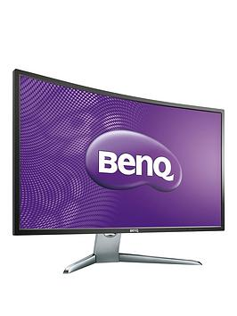 Benq Ex3200R Va 31.5In Fhd 4Ms Response, 144Hz, Curved Monitor, Speakers, Height Adjust Stand