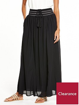 v-by-very-smock-detail-maxi-skirt