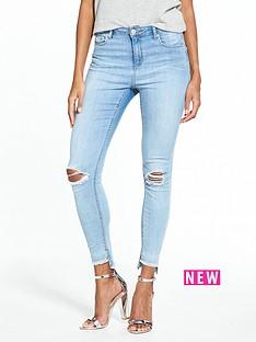 miss-selfridge-lizzie-ripped-knee-skinny-jean