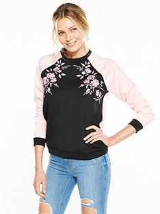 v-by-very-blossom-embroidered-sweater-blackpinknbsp