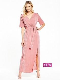 v-by-very-wrap-over-slinky-maxi-dress
