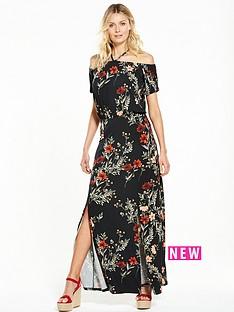 v-by-very-bardotnbspsplit-front-maxi-dress