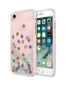 rebecca-minkoff-stylish-liquid-glitterfall-protective-case-for-iphone-7-emojis