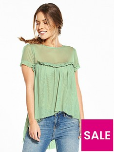 v-by-very-petite-sweetheart-tulle-top-mint