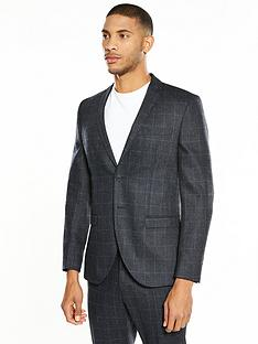 selected-homme-mylodent-blue-check-suit-jacket