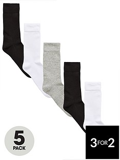 v-by-very-5-pk-sports-sock