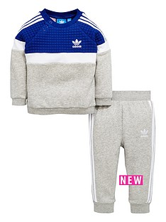 adidas-originals-adidas-originals-baby-boy-trefoil-fleece-crew-suit