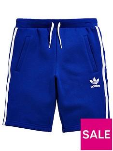 adidas-originals-older-boy-fleece-shorts