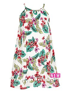 river-island-girls-white-tropical-print-pom-pom-hem-dress