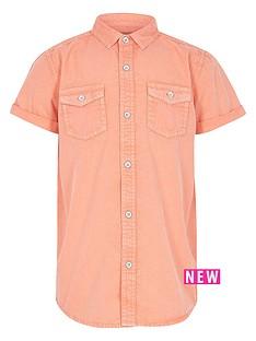 river-island-boys-orange-washed-short-sleeve-shirt