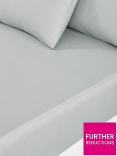 silentnight-pure-cotton-28-cm-deep-fitted-sheet