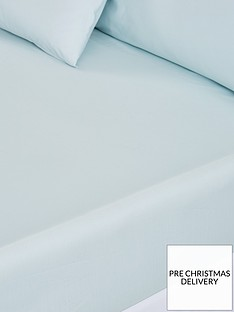 silentnight-pure-cotton-28-cm-deep-fitted-sheet