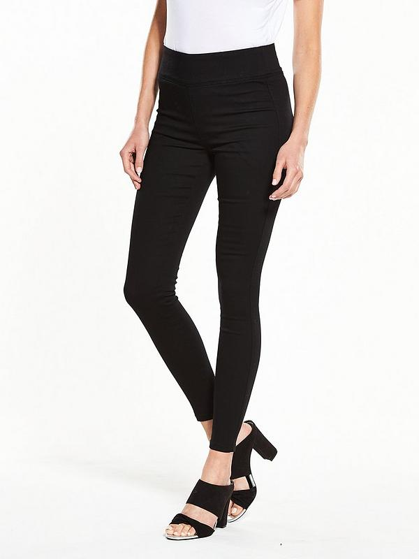 select for clearance choose original 60% discount High Waist Jeggings - Black
