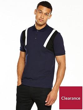 v-by-very-mens-colour-block-sleeve-polo