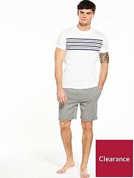 v-by-very-short-sleeve-tee-amp-shorts-pj-set