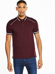 v-by-very-ss-raglan-piping-polo