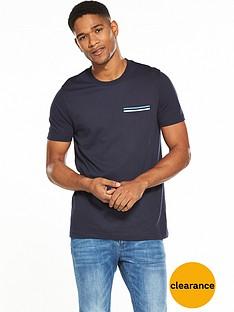 v-by-very-short-sleeve-rib-pocket-tee