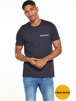 v-by-very-short-sleeve-rib-pocket-tee