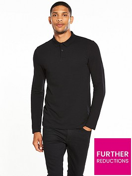 v-by-very-long-sleeve-pique-polo
