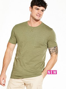 v-by-very-short-sleeve-slub-t-shirt