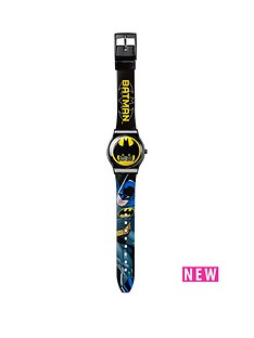 batman-batman-watch-amp-wallet-childrens-gift-set