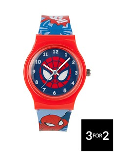spiderman-print-strap-childrens-watch
