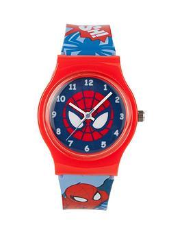 spiderman-print-strap-kids-watch