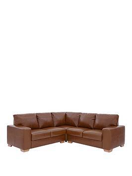 huntington-100-premium-italian-leather-corner-group