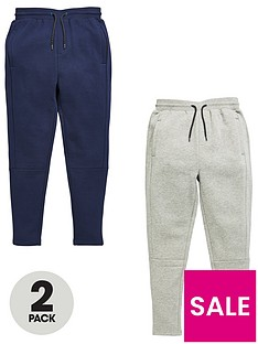 v-by-very-boys-panel-jogging-bottoms-greynavy-2-pack