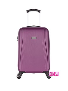 antler-fitzroy-56cm-4-wheel-spinner-cabin-case-purple