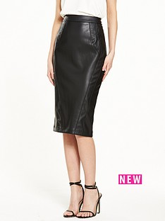 river-island-river-island-reptile-panel-pu-pencil-skirt