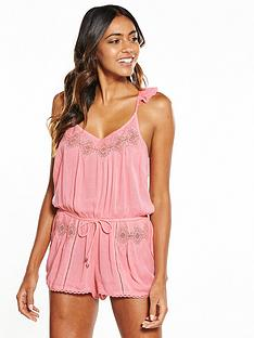 river-island-river-island-beach-playsuit-with-lace-insert