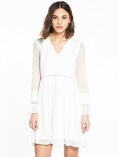 river-island-cream-smock-dress