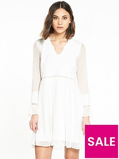 river-island-cream-smock-dress