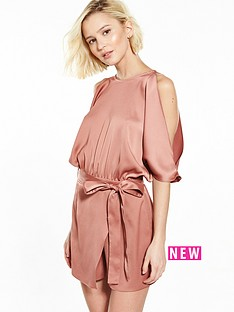 river-island-copper-playsuit