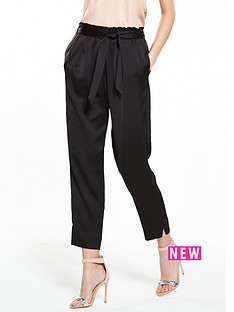 river-island-satin-tapered-trouser