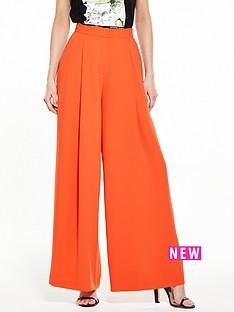 river-island-orange-wide-leg-trouser