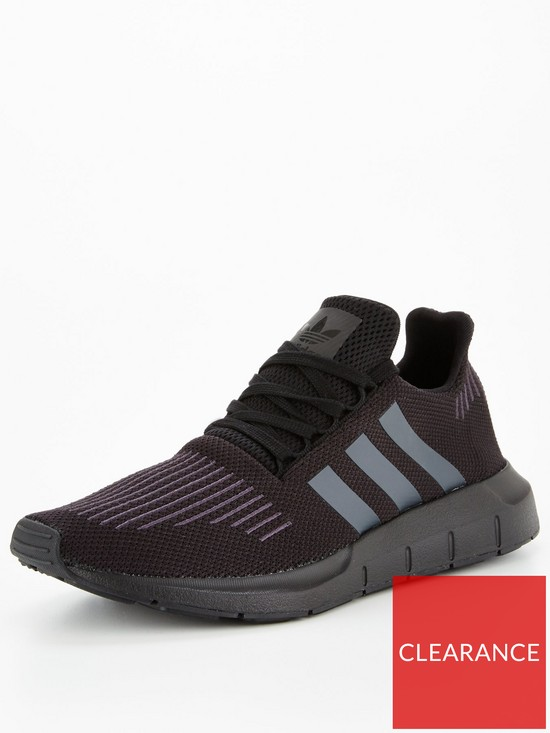 aaab5a0a7962 adidas Originals Swift Run - Black