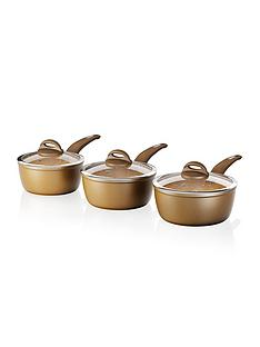 tower-cerastone-3-piece-saucepan-set