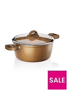 tower-cerastone-24-cm-forged-casserole-pan