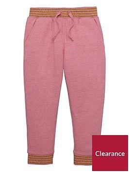 mini-v-by-very-girls-pink-marl-amp-lurex-jogger