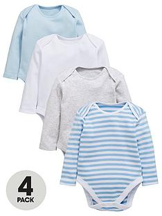 mini-v-by-very-baby-boys-4-pack-soft-jersey-bodysuits