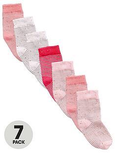 mini-v-by-very-toddler-girls-neppy-striped-socks-7-pack