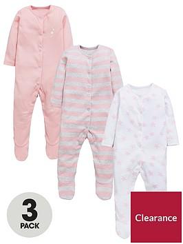 mini-v-by-very-baby-girls-3-pack-star-amp-stripe-sleepsuits