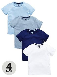 mini-v-by-very-boys-tshirts-4pk-new-blues
