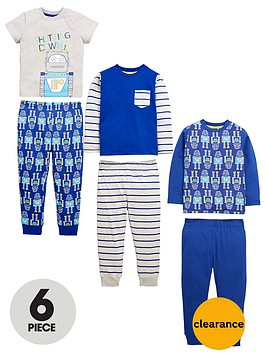 mini-v-by-very-boys-6-piece-robot-pyjamas