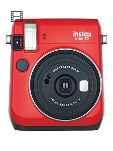 fujifilm-instax-mini-70-instant-cameranbspwith-10-or-30-pack-of-paper-red