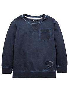 mini-v-by-very-boys-navy-oil-wash-sweater