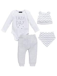 mini-v-by-very-baby-unisex-4pc-slogan-hat-bib-bodysuit-amp-jogger-set