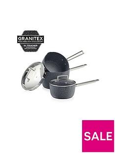 tower-granitex-3-piece-saucepan-set